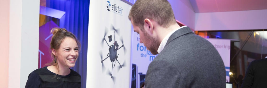 Elistair presented its smart tethered station for drones at the T3 Business Forum organized by Paris Airports