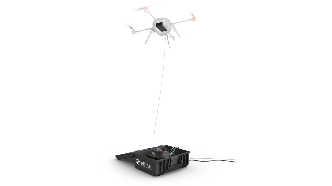 Hight-T And Tethered Drone