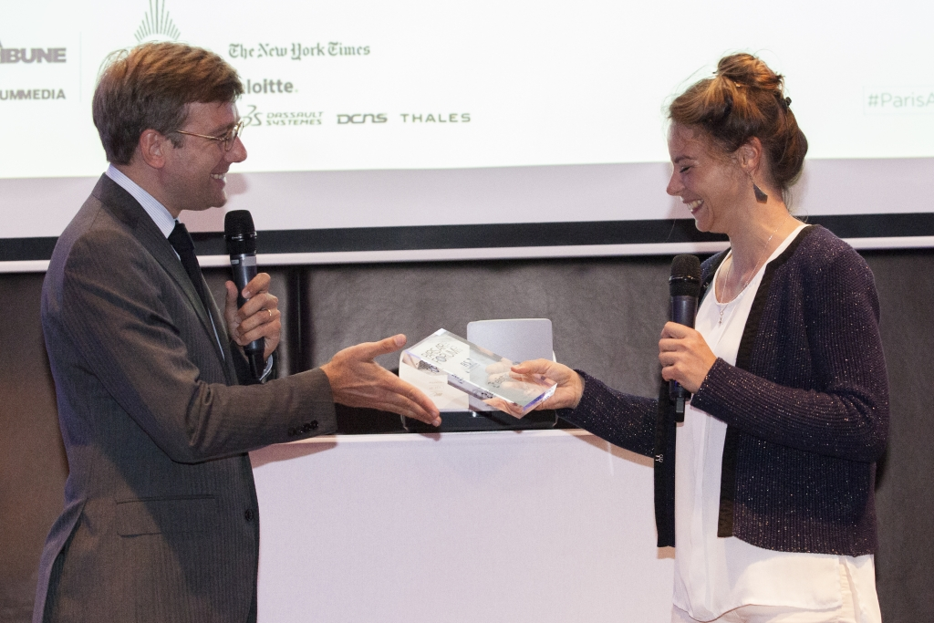 Elistair was rewarded by Groupe ADP, for its tethered drones solution during Paris Air Forum 2016