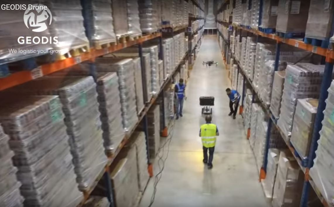 Geodis & Delta Drone, Lauching Automated Inventory with Safe-T