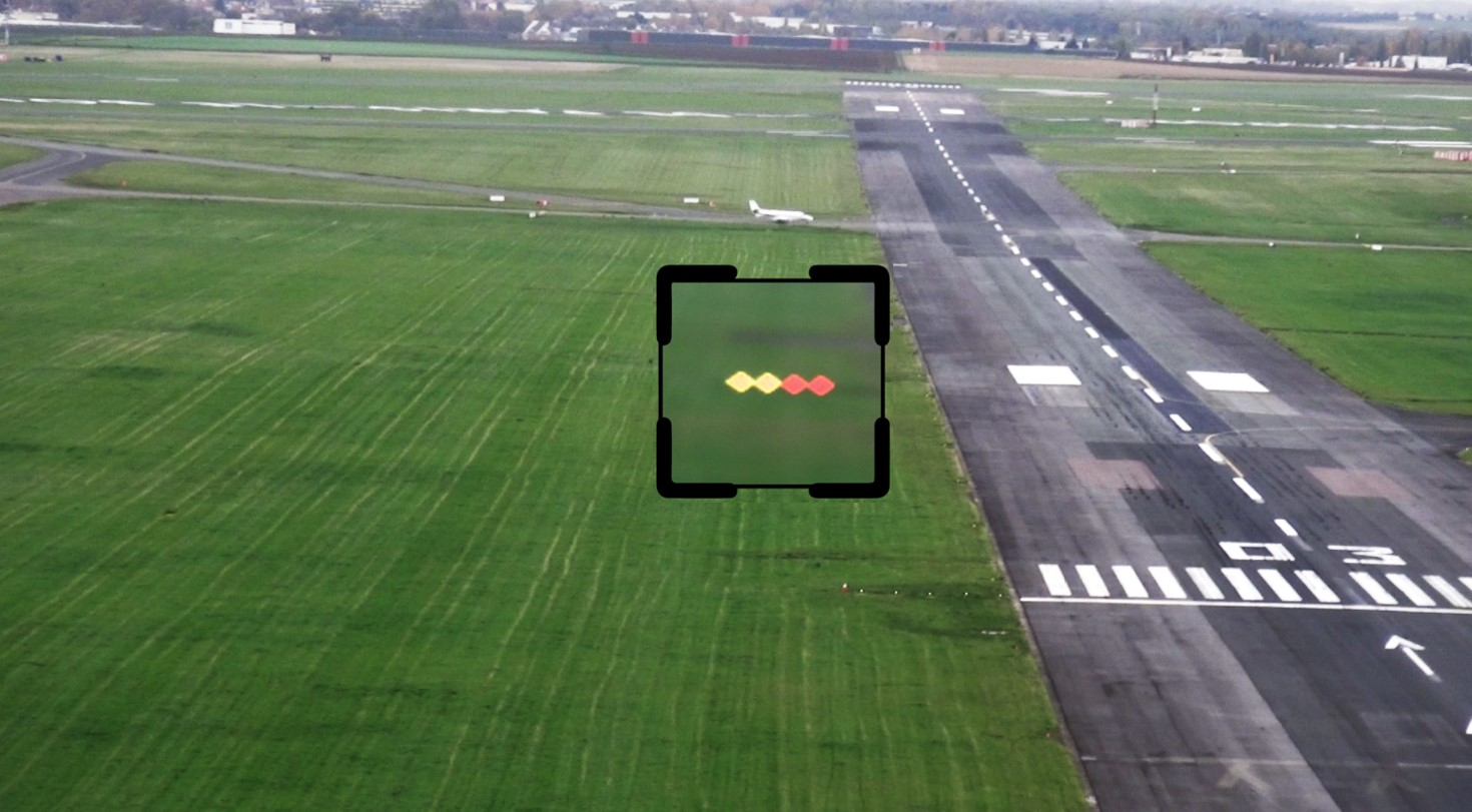 Elistair Airport PAPI lights tethered drone flight with Safe-T checking