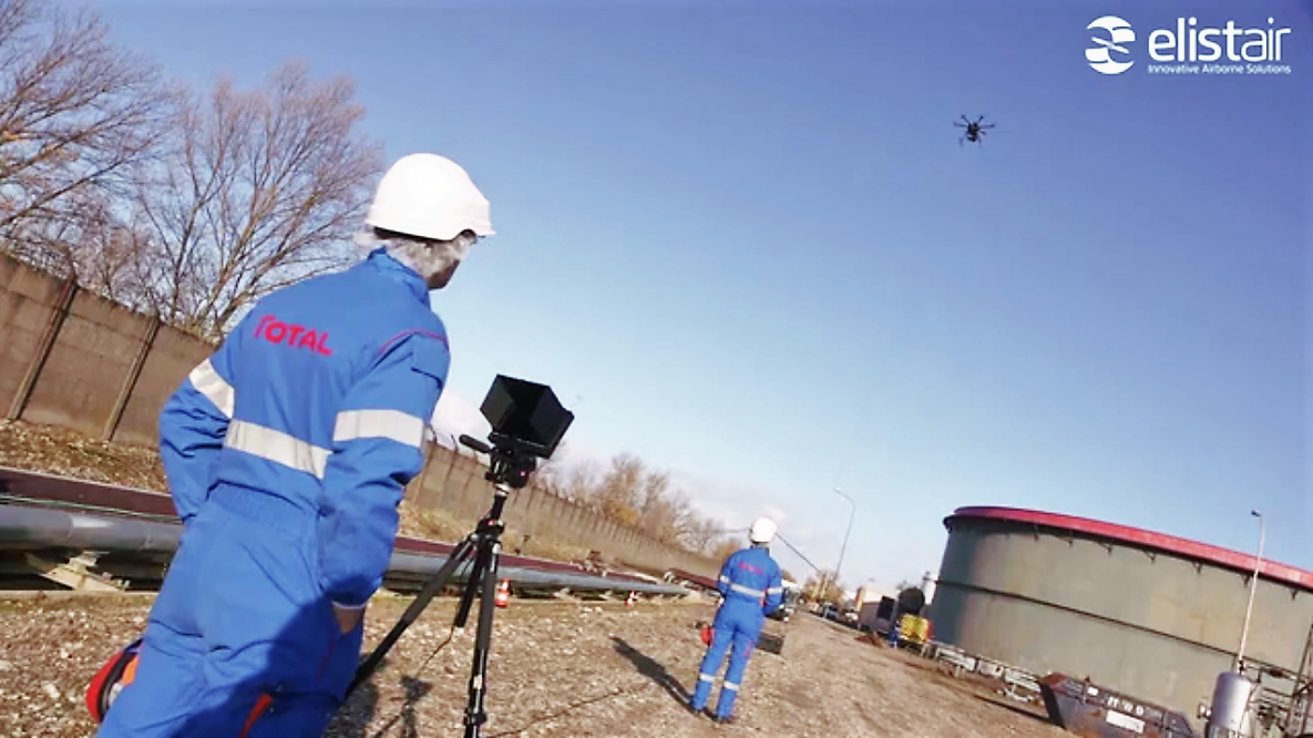 Elistair Gets Total Development Award Supporting Innovative SMEs for its Tethered UAV Systems