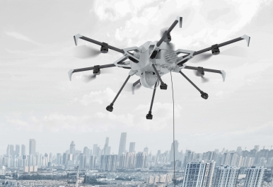 Elistair Tethered drones