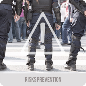 Crowd control - Applications - risks prevention