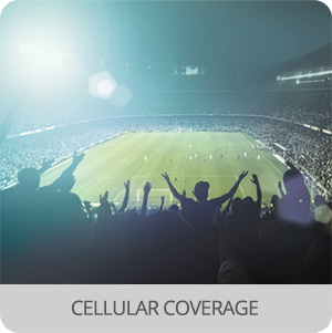 Crowd control and event management - Application - cellular coverage