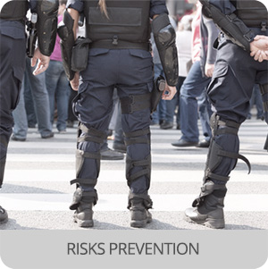 Crowd control and event management - Application- risk prevention