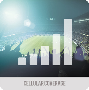 Crowd control and event management - applications - cellular coverage