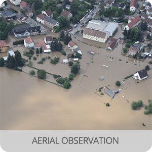Disaster recovery - Application -Aerial observation
