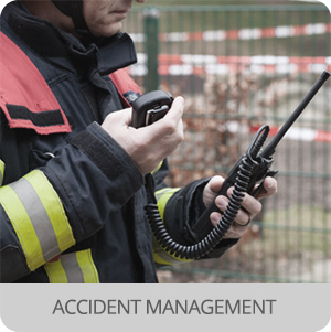 First responders - Application - accident management