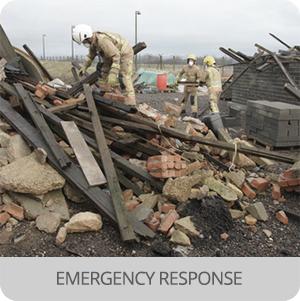 First responders - Application - emergency response