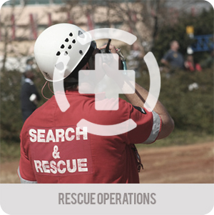 First responders - Applications- Rescue operations