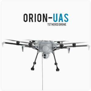Orion UAS Product banner