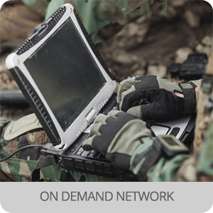Pop up telecom - Application - on demand network