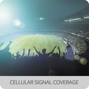Pop up telecommunications - Application - cellular coverage