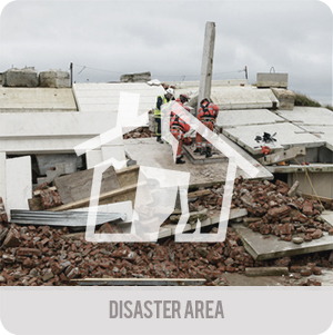 Search and rescue - Applications - disaster area