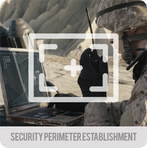 Tactical operations - applications - security perimeter