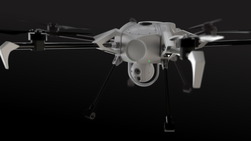 Orion persistent tethered drone