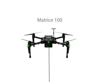 DJI S900 is compatible with the Ligh-T V.3 tethered drone station