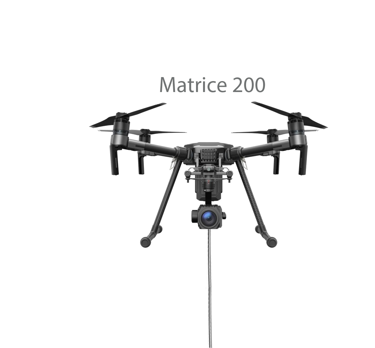DJI Matrice 200 is compatible with the Ligh-T V.3 tethered Drone Station