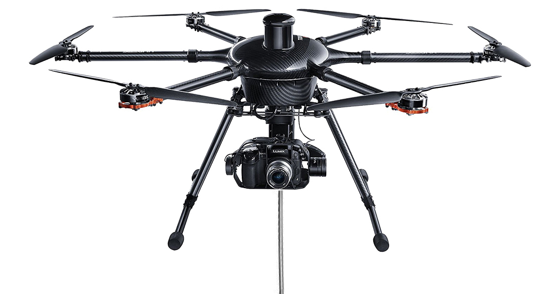 Yuneec H920 is compatible with the Ligh-T V.3 tethered Drone Station