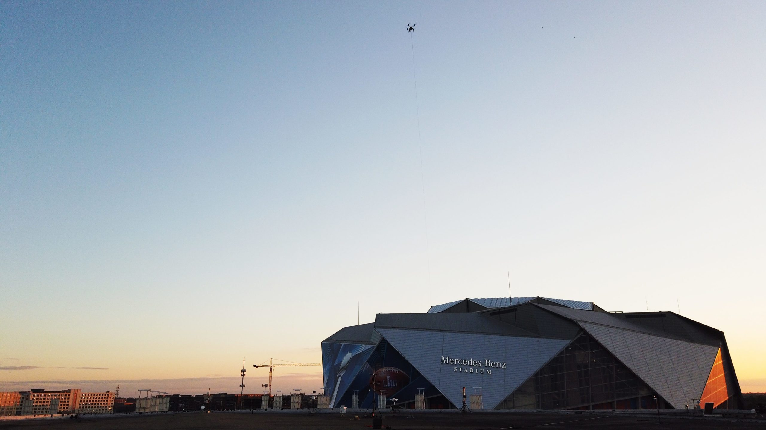 Elistair tethered drones selected for broadcasting & security at the Super Bowl
