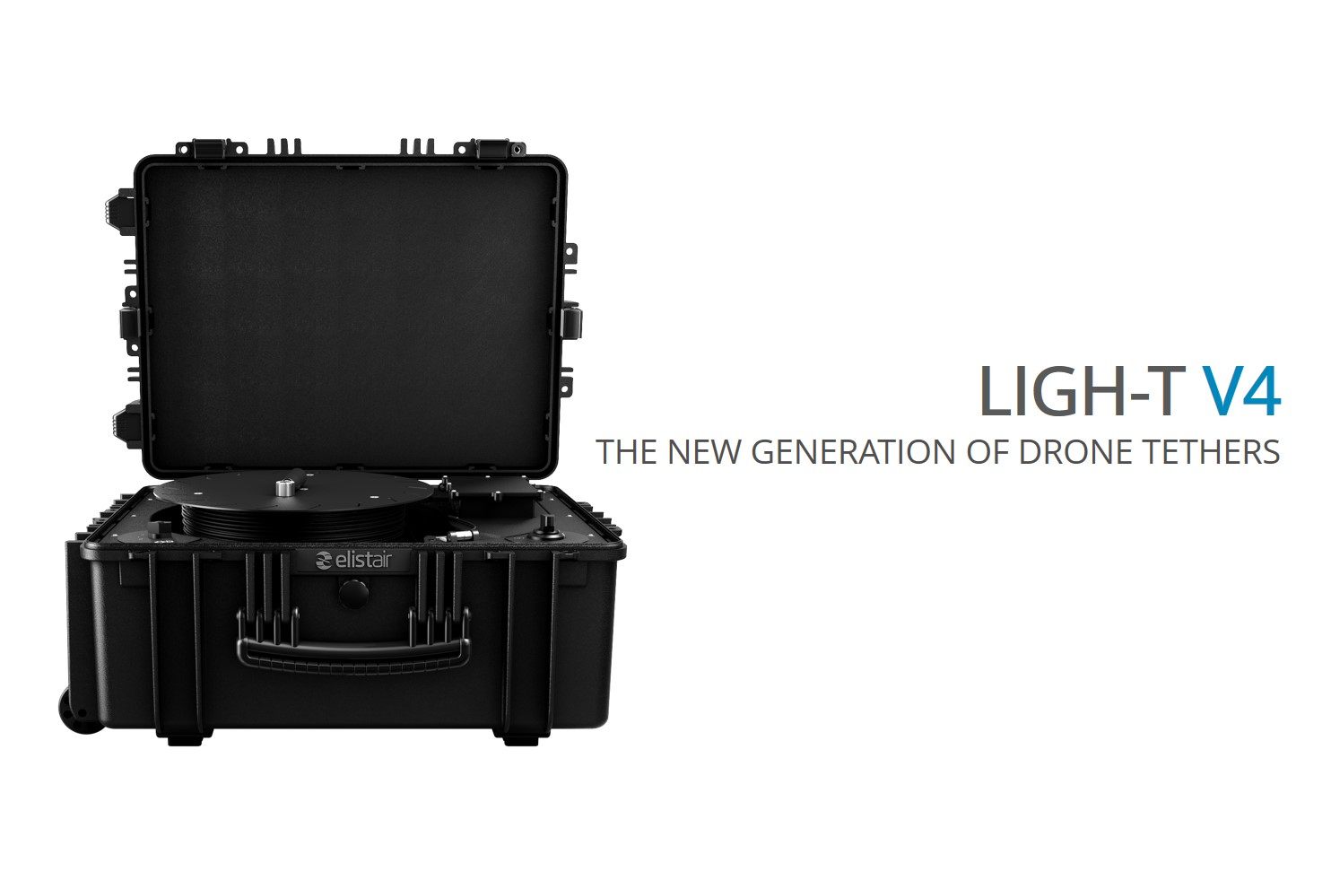 Elistair Launches the Ligh-T V4 – New generation of Drone Tethers