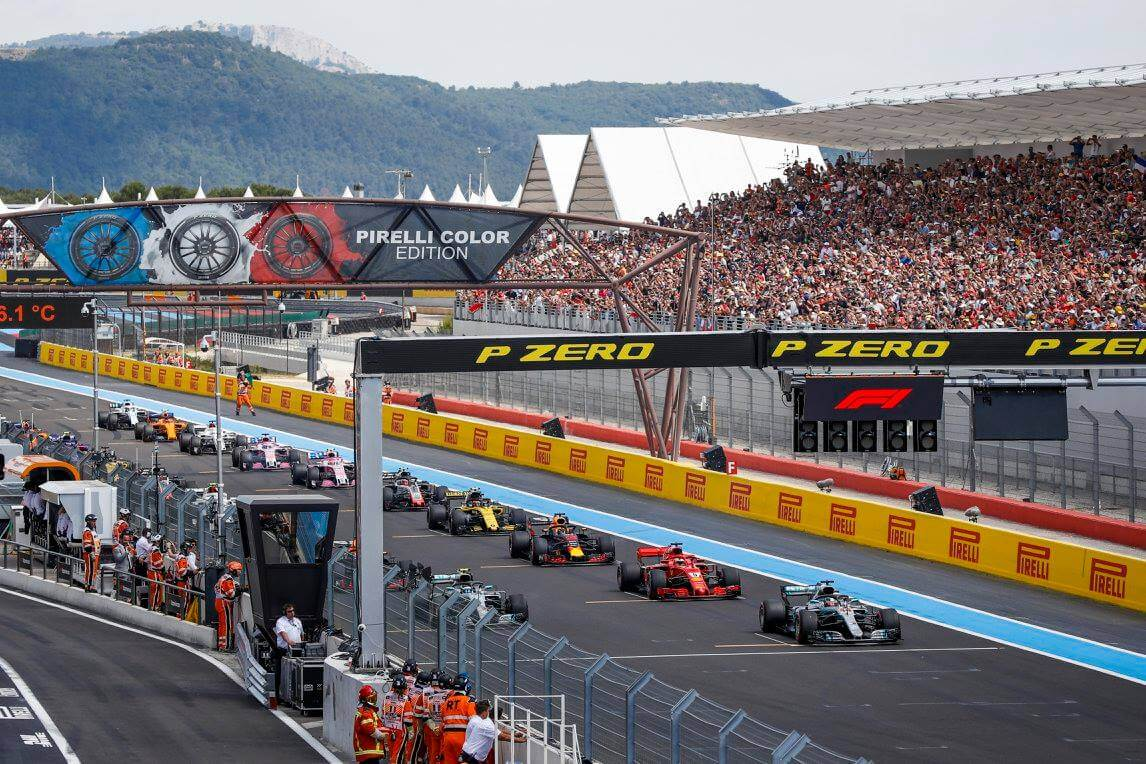 French Grand Prix 2019 Security – 4 days, 2 tethered drones, 84 hours of flight