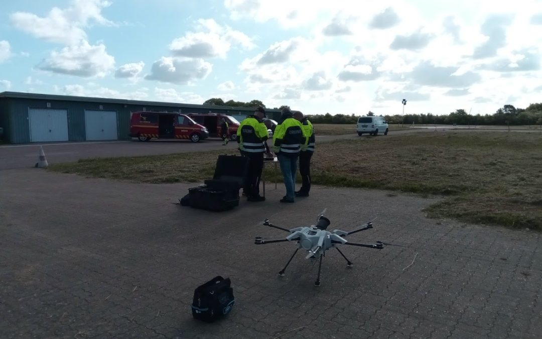 Elistair ORION UAS And Safe-T Demonstration
