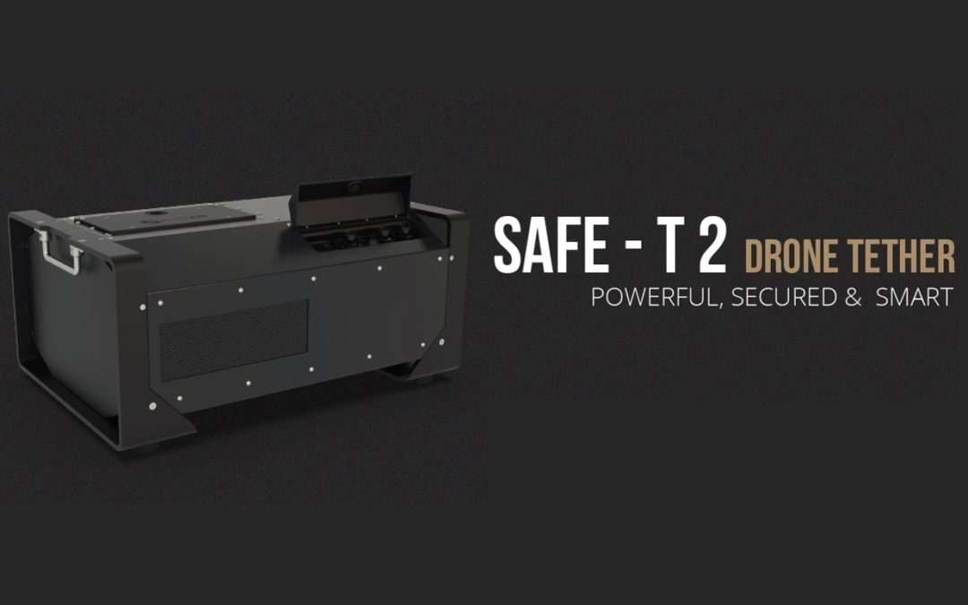 Elistair Unveils the SAFE-T 2, The New Standard for Tethered Drone Stations.
