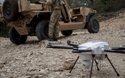 Tethered Drones – The Ideal Solution for Border & FOB Security