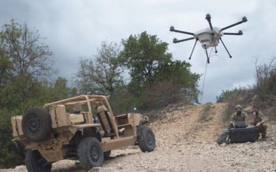 Elistair unveils ORION 2, Tethered Drone for Defense and Security.