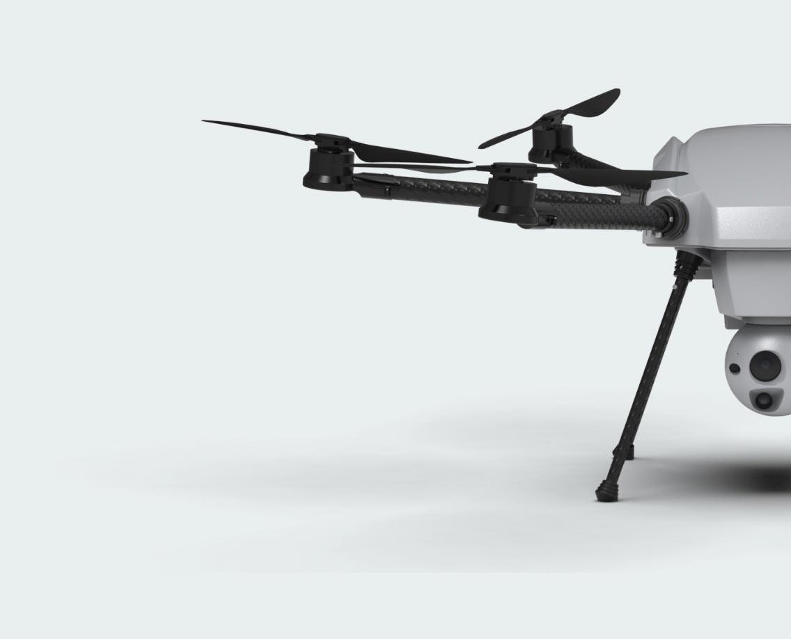 Orion tethered UAV system sensor